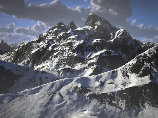 C4Depot Cinema 4D Plugin: Infinite Mountains